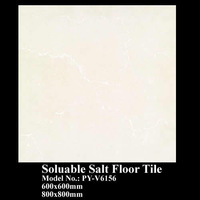 marble deign beige floor tiles  PY-V6156, soluable salt series