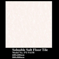 PY-V6158 soluable salt series beige marble tile