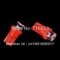 100 X 12V T10 LED CAR/BOAT/MARINE COOL LIGHT red