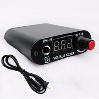 Free shipping 2013 Black Hot Sale High Quality LED Screen Professional Tattoo Mini Power Supply