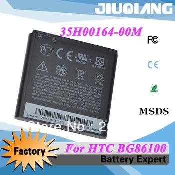 Hot selling 35H00164-00M battery for HTC EVO 3D G17 X515M X515D BG86100 Free shipping