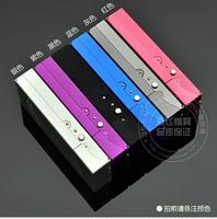 Wholesale - aluminium alloy women cigarette case hold 20pcs women's cigarettes Cigarette box /holder 5 Colors gift for women