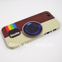 Instagram Insta Camera Design Hard Plastic Case for iPhone 5 5s