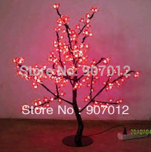 Hot-selling decoration lighting led cherry tree luminous lawn lamp 85cm with 240leds by DHL or EMS(China (Mainland))