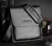 Promotion!men shoulder leather leisure Crossbody messenger bags/fashion leather men bag hot black&brown free shippingMB47