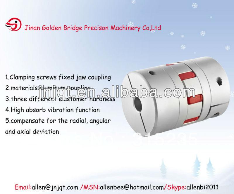 Free shipment free DHL shipment JM2-25 6.35mm*6.35mm electric motor couplers for cnc machien(China (Mainland))