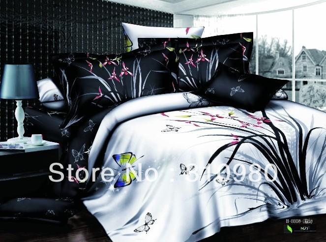 100 Cotton Duvet Quilt Covers Queen Bedding 3d Digital