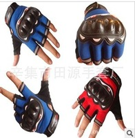 Mountain bike racing bicycle motorcycle half refers to crash anti-skid riding outdoor gloves
