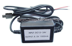 5V power supplier from car battery, Used for GPS tracker power-supply (not sell alone!!!)(Hong Kong)