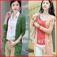 Best Selling !!New Arrival Women's Cardigan Long Sleeve Sweater Autumn outwear+Free Shipping
