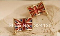 free shipping 50pcs wholesale American national flag Britain flag ring style female fashion finger ring