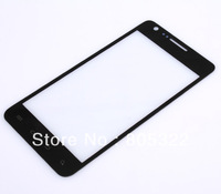 Free shipping , NEW Black Outer LCD Glass Display Screen Lens for Samsung i777 at&amp;amp;t Galaxy S II
