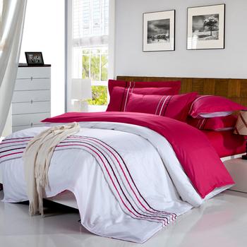 Textile 100% cotton Bedding Set 4pcs Printed Queen Size Duvet Cover SET BEDDING SET Bedspread Sheet