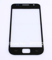 Free shipping , NEW Black Outer LCD Glass Display Screen Lens for Samsung Samsung Galaxy S GalaxyS i9000