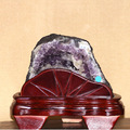 2.89kg Natural Rock Amethyst Crystal Geode
