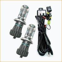 Free shipping, 2x35w H4 bi-xenon hid 12000K bulb, high quality