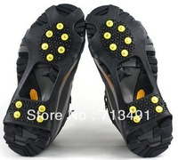 2012 anti slip shoe cover  snow  shoe cover  bubber ice spike magic spike factory selling price
