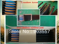 """crossbow arrow 20"""" aluminum 7075 T6 completed with nock insert vanes archery hunting equipement 50pcs/lot free EMS shipping fast"""