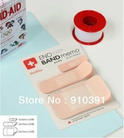 Free shipping/EMS,band-aid shape sticky notes,novelty mini scratchpads memo pad as office product