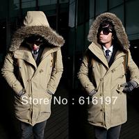 Free shipping, Men's coat, Winter overcoat, Outwear, Winter jacket, wholesale