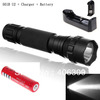 501B U2 UltraFire WF-501B Cree XM-L U2 1300 Lumens LED Flashlight +1*18650 3000mAh battery+1*Charger + Free shipping