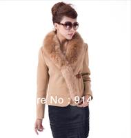 free shipping 2012 winter casual bulkness cotton-padded jacket wadded jacket w344