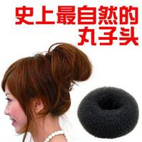 Min. order is $15 (mix order) 1705 2012 new women's  fashion donut meatball head bud head hair Band