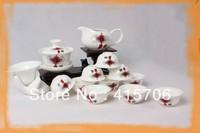14pcs/set gongfu Tea set  chinese knot
