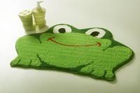 Free shipping Lovely frog ground mat floor mat earth carpet Lovely cushion DA5963-3