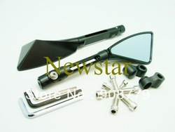 Free Shipping Brand New Motorcycle Rear CNC mirror for Kawasaki Suzuki Honda Yamaha Motorcycle Mirror(China (Mainland))