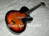 Luxury jazz Semi Hollow guitar sunburst L5 electric guitar Musical Instruments free shipping