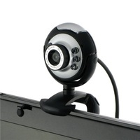 web cam computer camera digital USB 6 LED Webcam with Mic Digital Camera usb webcam,pc webcam free shipping