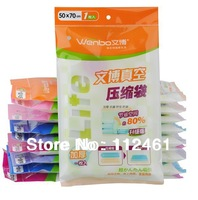 FREE SHIPPING Vacuum Storage Bag/Vacuum Compressed Bag/Vacuum space saving compressed bag 10pcs/lot