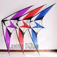 "New 94"" Dual Line Sport Stunt Kite + 2*25m 150lb Braided dyneema Line 2 Line Kite"