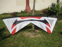 "94"" Quad Line Kite Carbon Rod+4*25m Dyneema Line+13"" Quad Handle Stunt Sport Experience LK012"