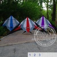 HUGE  70inch Prism 2 Line Stunt Kite + 2*25m 150lb dyneema Line+Wrist Straps LK003