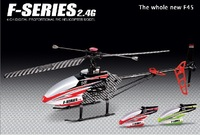 F45 Metal 4CH 2.4G RC single-propeller Helicopter & Gyro with original package