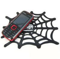 hot sale car Slip-resistant pad vehienlar slip-resistant non slip pad spider net design.Free shipping