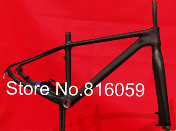 "FLX-FR-213 : 3K Full Carbon Matt 29ER Mountain MTB Bike Bicycle Frame (BB30) ,  Fork ,  Headset - 16"" , 18"" , 20"""