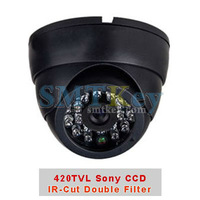 420TVL Sony CCD IR Dome Camera with Double IR-Cut Function