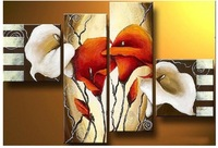 hand-painted The big Beautiful Home Decoration Modern Abstract Oil Painting on canvas