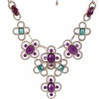 SCML001 Fashion luxurious Choker Statement necklaces Jewelry Colares Collier 2014 New Mujer women atacado de bijuteria