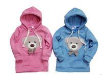 toptoptop новый с капюшоном длинный пуловер Топ / зимние пальто/одежды пальто/женщин пальто/балахон милый плюшевый медведь