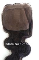 virgin Malaysian hair silk based top closure 4x4