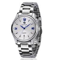 Free shipping Binlun fashion stainless steel commercial men's watches waterproof classic men's watch fashion Wristwatches