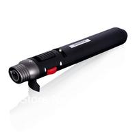 Pen Style Windproof Butane Jet Torch Flamethrower Lighter w/ Easy-adjust Switch