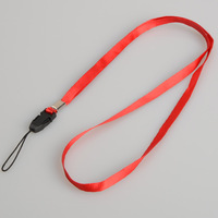 100PCS Mobile Phone Neck Straps Lanyard for CellPhone Mp3 ID IPOD Camera D0215 T