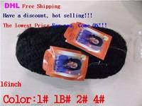 Dendy kinky twist hair afro twist braid free shipping  16inch color 4 10PCS on sale