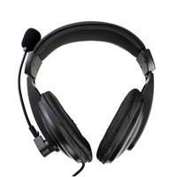 Km-750 headset computer earphones laptop headset bass stereo headset earplugs