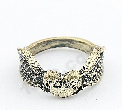 Free shipping Korean Fashion Cupid love ring E19
